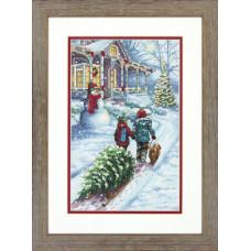 Набор для вышивания крестом Dimensions Рождественская традиция (70-08960)