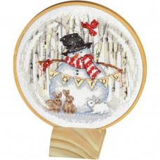 Радостный снежный шар (70-08979)