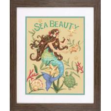 Набор для вышивания крестом Dimensions Морская красота (70-35376)