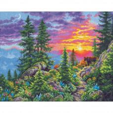 Закат в горах (70-35383)