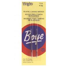 Иглы для вышивки на пластиковой канве Boye, 2шт (7518)