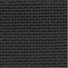 Канва для вышивки Чарівна мить К6 чёрная, отрез (13К4ч)
