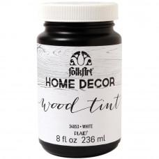 Морилка FolkArt Home Decor Wood Tint, белая (HDCWOOD 34853)