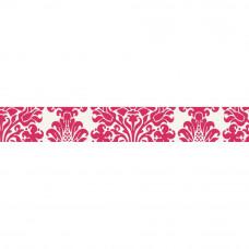 Бумажная декоративная лента Розовый Дамаск (PT206)