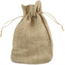 Мешочек из мешковины, 12,7 х 16,5 см.(KJP1712)
