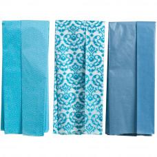 Набор бумаги тишью Голубая, 12 шт.(M4505001)
