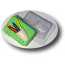 Форма для мыла Блокнот с карандашами