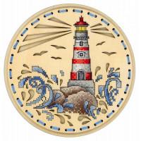 Набор для вышивания крестом М.П.Cтудия Дыхание океана (О-020)