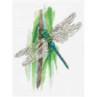 Набор для вышивания крестом Panna Мгновения лета. Стрекоза (ПС-7091)