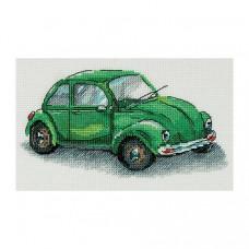 Набор для вышивания крестом Panna Зеленая машина (М-7092)