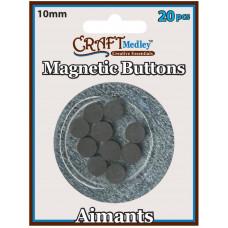 Магнит круглый Multicraft Imports 20 шт (MCMT 040)