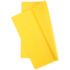 Бумага тишью, 50,8 х 50,8 см, Канареечно-желтая, 10 шт (TGW8000 08040)