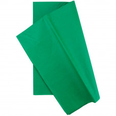 Бумага тишью, 50,8 х 50,8 см, Изумрудно-зеленая, 10 шт (TGW8000 08081)