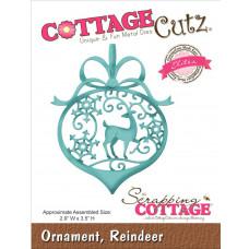 Ножи CottageCutz Ornament, Reindeer (CCE186)