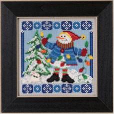 Набор для вышивания Mill Hill Мистер Снеговик (MH145303)