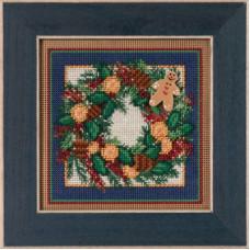 Набор для вышивания Mill Hill Венок новогодних специй (MH145304)