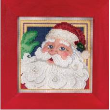 Набор для вышивания Mill Hill Дед Мороз (MH145306)