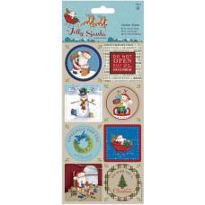 Наклейки Веселый Санта (PM157957)