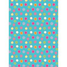 Фетр (войлок) листовой с узорами Bright Dots, 30 х 23 (PRTF 50473)