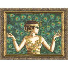 Набор для вышивания крестиком Золотое руно Исида (А-006)