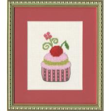 Набор для вышивания бисером Золотое руно Вишневый десерт (БС-009)