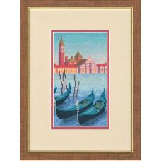 Набор для вышивания крестиком Золотое руно Вечер в Венеции (ВС-009)