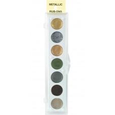 Набор красок-металлик, 7 цветов, Kit #2 (33042)