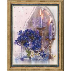 Набор для вышивания бисером Золотое руно Вечер при свечах (РТ-008)