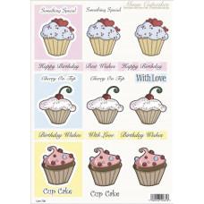 3D карта Cupcakes (736)