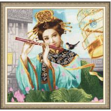 Набор для вышивания крестиком Золотое руно Волшебная флейта (00-005)