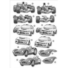 3D карта Monochrome Cars (704)