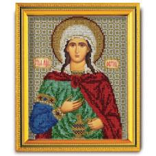 Набор для вышивания бисером Св. Фотина (Светлана) (В-338)