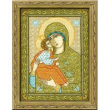 Набор для вышивания крестом Риолис Богоматерь Акафистная-Хилендарская (0892)