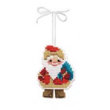 Новогодняя игрушка Дедушка Мороз (1538)