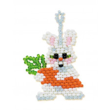 Набор для бисероплетения Риолис Зайчик с морковкой (Б-150)