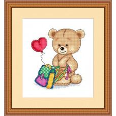 Набор для вышивания крестиком Сделано с любовью Люблю учиться (МК-019)