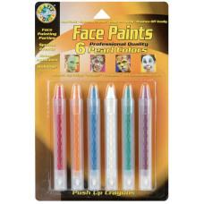 Карандаши для лица, 6 цветов, Pearl (FPSTICK 80041)