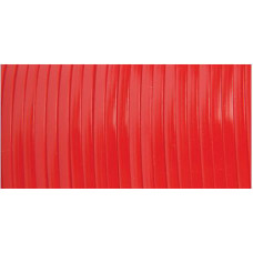 Виниловый (пластиковый) шнур, 2,3 мм , красный (RMS10 03)