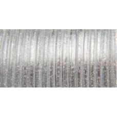 Виниловый (пластиковый) шнур, 2,3 мм , серебряная искра (RMS10 25)