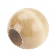 Бусины круглые для макраме Натуральные (PWB20 03)