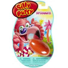 Умный пластилин (хендгам) Silly Putty - жвачка для рук, Суперяркий (08-0315)