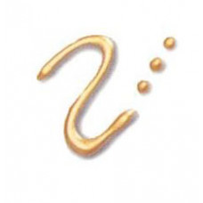 Универсальная краска-контур Fashion Dimensional Paint Plaid, металлик чистое золото (FF 25251)