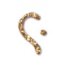 Универсальная краска-контур Fashion Dimensional Paint Plaid, глиттер золотой (FF 25403)