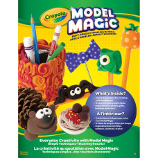 Книга Crayola Model Magic Idea Book. Everyday Creativity (57-4510)