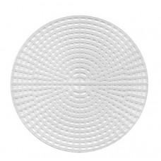 Заготовка из пластиковой канвы Круг, 15см  (337816)