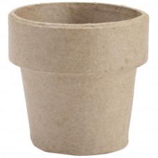 Заготовка из папье маше Вазон, 5 х 5 см (2839-02)