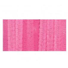 Меховая проволока, 25 шт, 30 см х 6мм, розовый (10423 21)