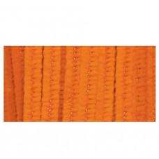 Меховая проволока, 25 шт, 30 см х 6мм, оранжевый (10423 23)