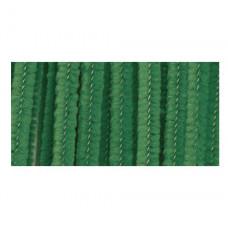 Меховая проволока, 25 шт, 30 см х 6мм, изумрудно-зеленый (10423 60)