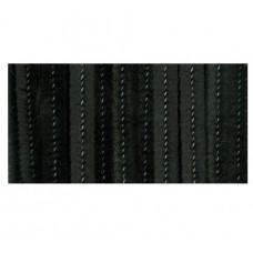 Меховая проволока, 25 шт, 30 см х 6мм, черный (10423 90)